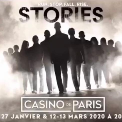 Stories. TAP Dance 2.0 au Casino de Paris. Nouveaux horaires