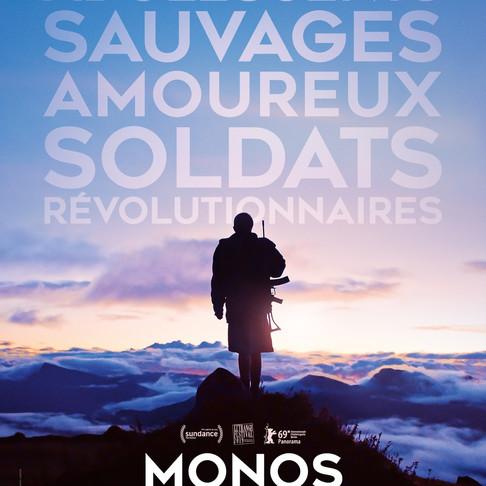 MONOS. Prix spécial du jury Festival de Sundance. Sortie cinéma