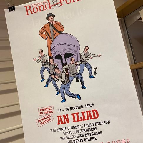 An Iliad. Coup de foudre au Théâtre du Rond-point