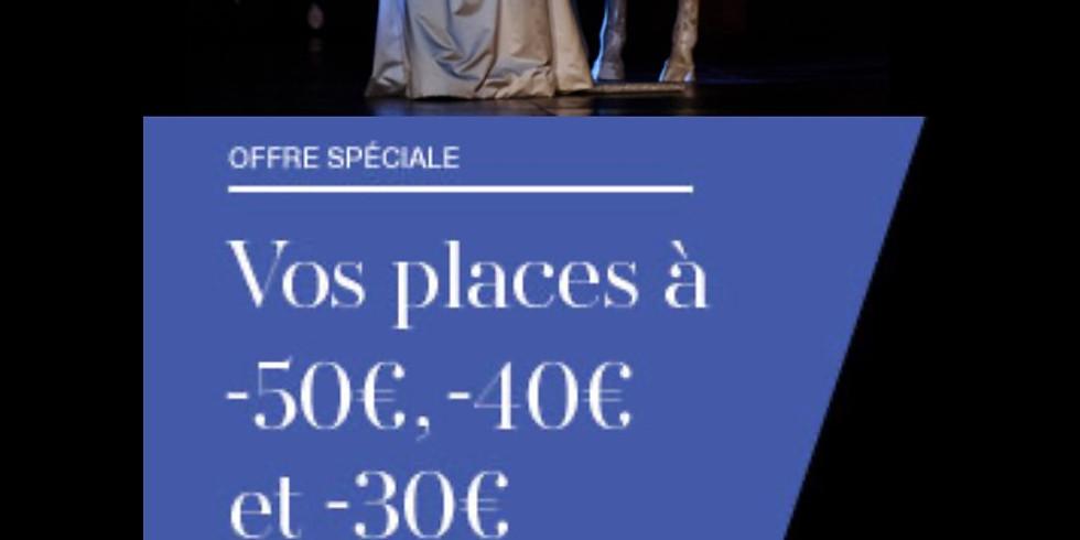 Offre spécial MEMBRE. OPÉRA DE PARIS. Événement exceptionnel (1)