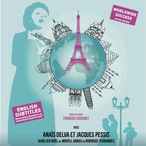 I love PIAF. Anaïs Delva et Jacques Pessis illumine le Théâtre Daunou