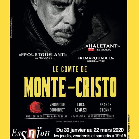 Le Comte de Monte Cristo. Théâtre de l'Essaïon