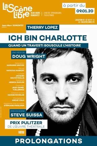 interview de Thierry Lopez. ICH BIN CHARLOTTE à la Scène Libre