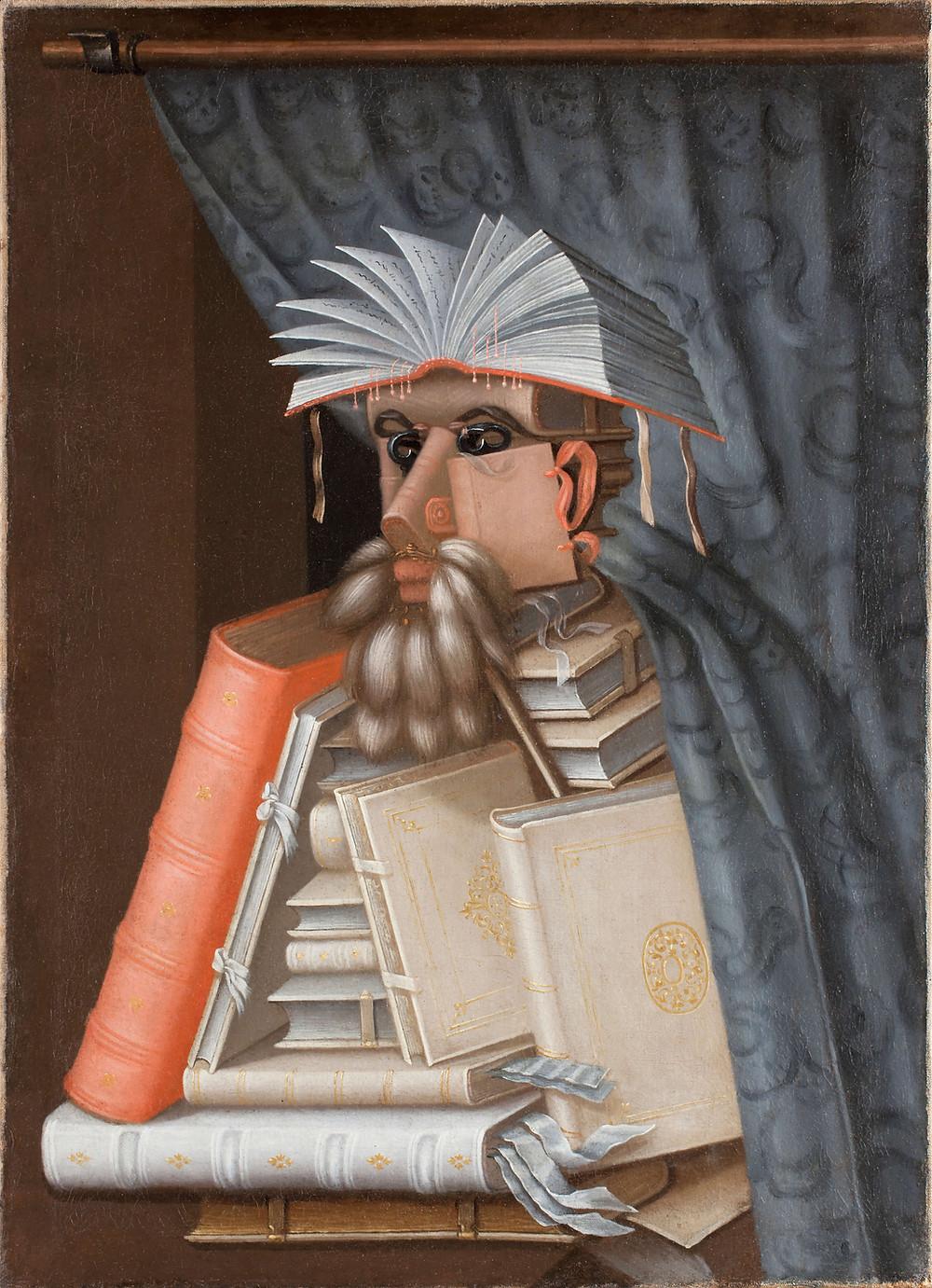 tableau autoportrait arcimboldo