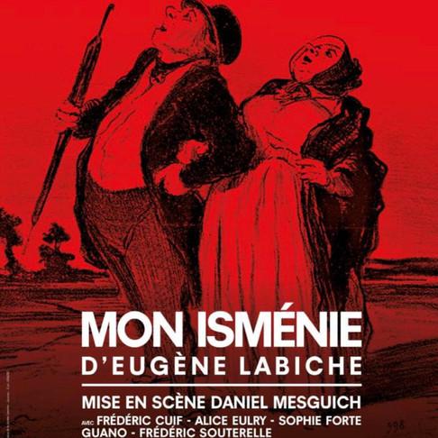 Mon Isménie. Une folie géniale au Théâtre Poche Montparnasse