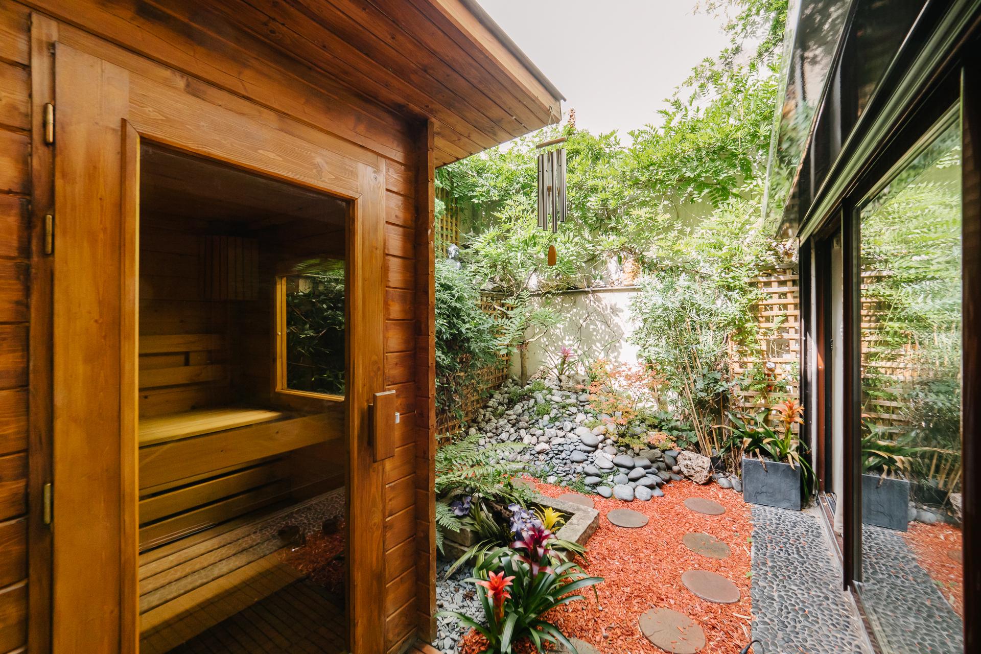 Sauna, Jardin Privatif