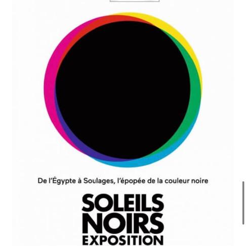 🅵🅵🅵🅵Soleil noir. Musée du Louvre Lens