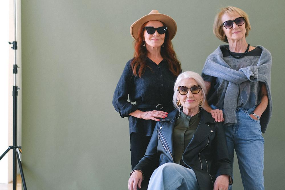 3 personnes âgées