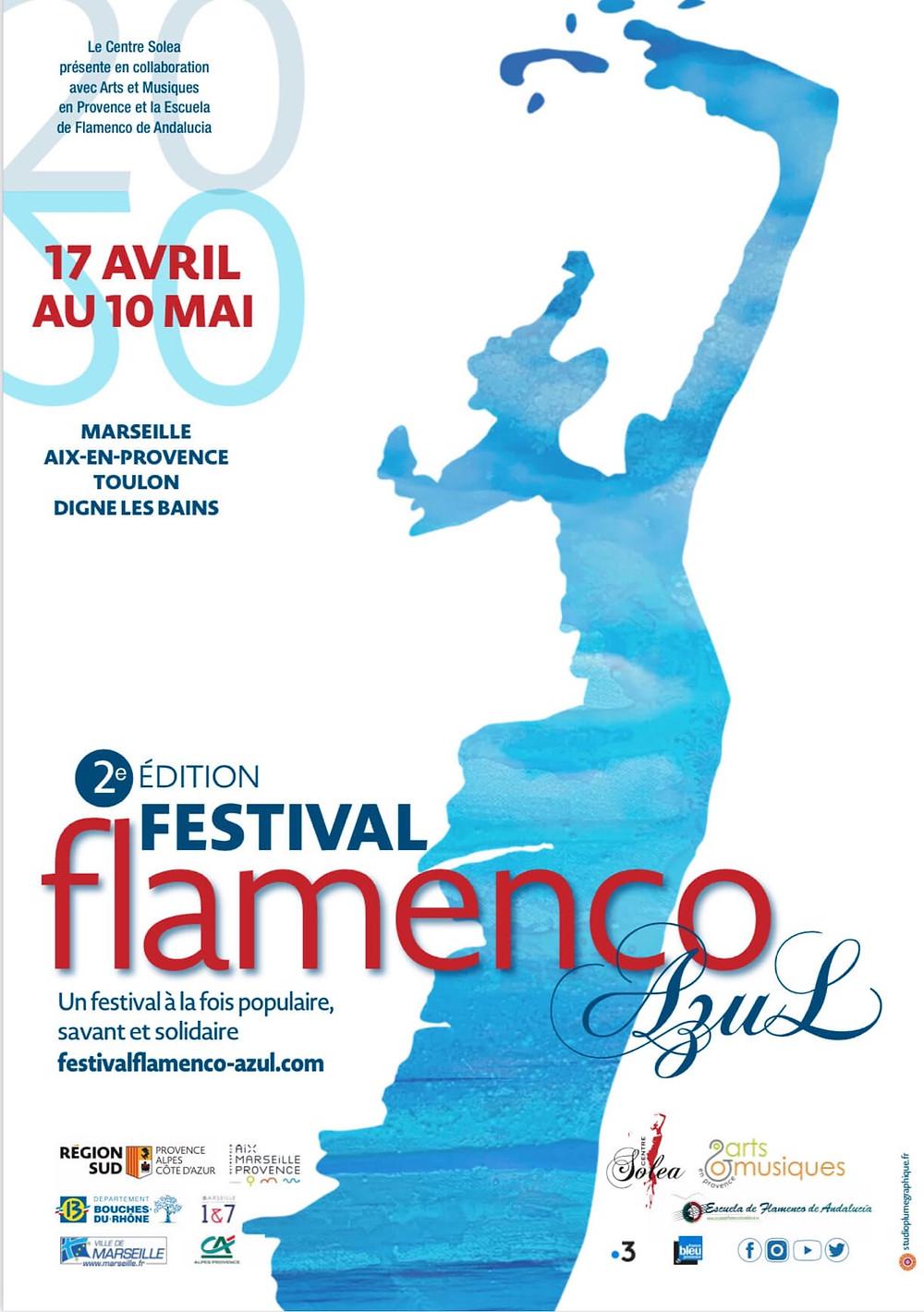 flamenco azul marseille