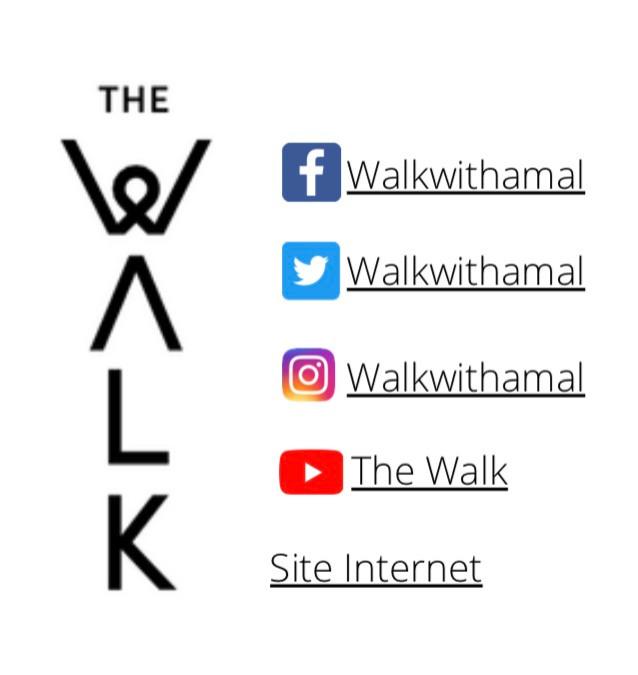 réseau sociaux the walk