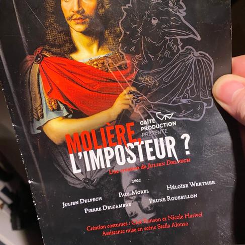 Molière l'imposteur ? Theo Théâtre