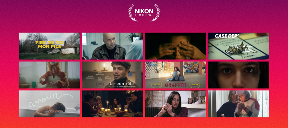 affiche Nikon film festival panorama de films