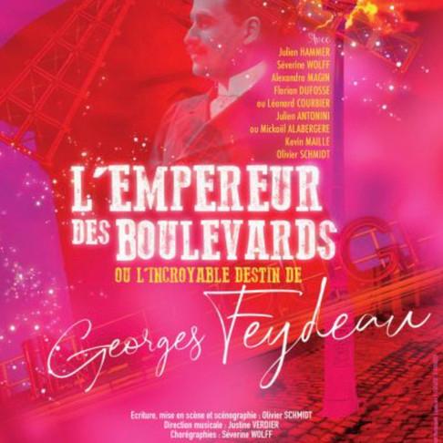 🅵🅵L'Empereur des Boulevards  Théâtre Montmartre Galabru