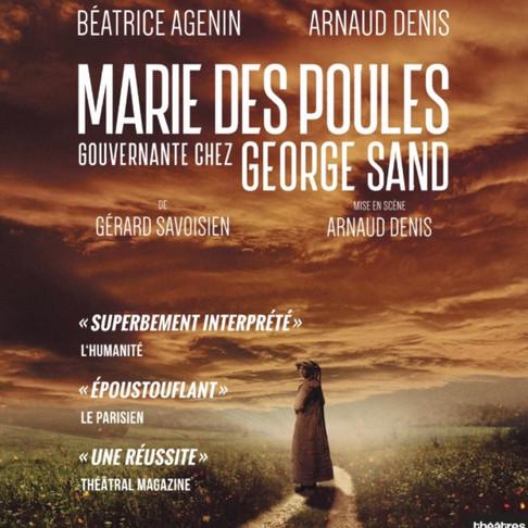 🅵🅵🅵🅵Marie des poules. Absolument Magistral au théâtre Petit Montparnasse. Nouveaux Horaires