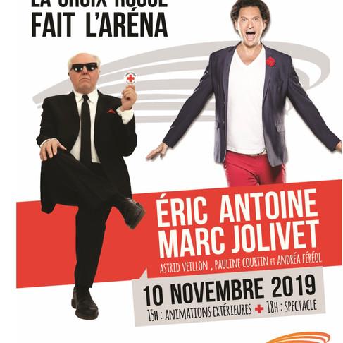 La Croix Rouge fait l'Arena. Marc JOLIVET. Marc ANTOINE et leurs amis. Aix en Provence