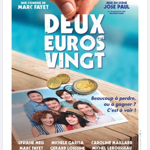 Deux euros vingt. Théâtre Rive Gauche