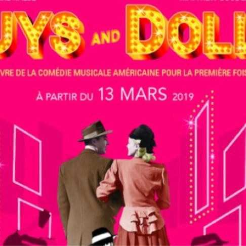 Guys and dolls. Theatre marigny