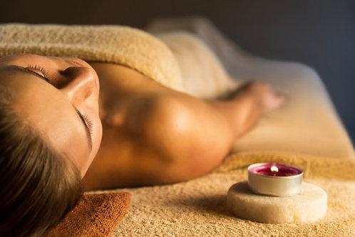 Chèque Cadeau massage duo lune de miel à la bougie de cachemire