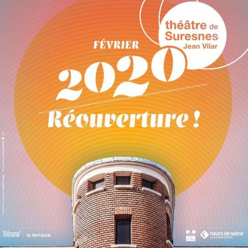 Réouverture du Théâtre de Suresnes Jean Vilar. Interview d'Olivier Meyer
