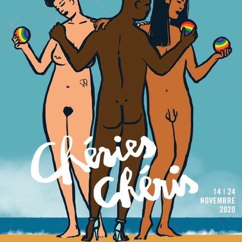 Le Festival duFilm    LGBTQI&+++ Chéries-Chéris dévoile son affiche etannonce sa programmation