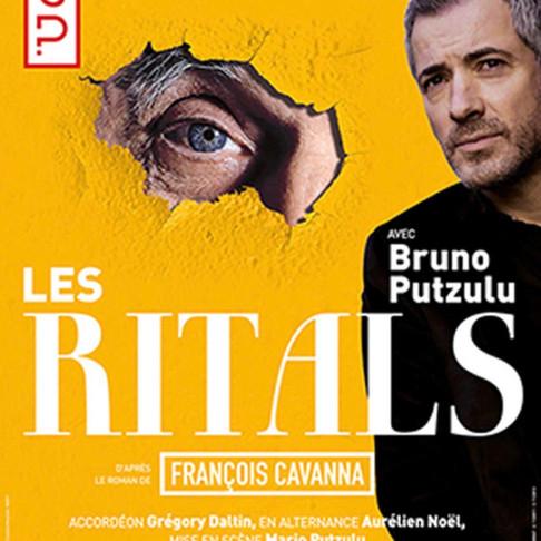Interview de Bruno Putzulu. Les ritals. Théâtre de la scène parisienne
