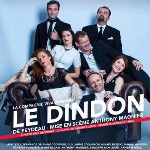 Le dindon effervescent au Théâtre Déjazet