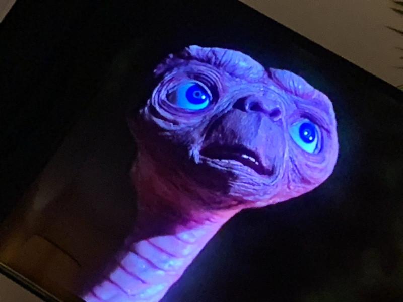 ET le film, l'extraterrestre