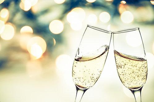 Option bouteille de champagne