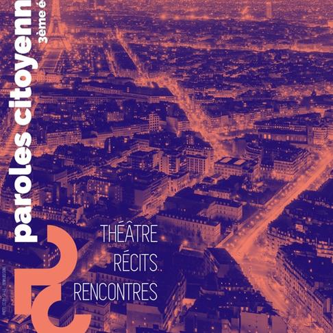 Attention événement immanquable ! Festival Paroles Citoyennes (3e édition)