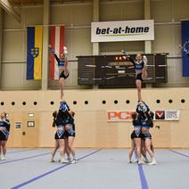 Erfolgreiche Cheerleading & Performance Cheer Landesmeisterschaften 2021