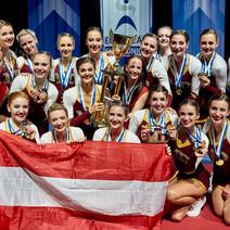 Erfolgreiche Cheerleading EM für Österreich