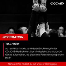 Covid-19 Maßnahmen ab 1.7.2021