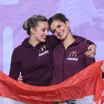 Erfolgreiche ECU Cheerleading Europameisterschaft in St. Petersburg für die Österreichischen Teams