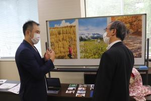 新潟県庁主催の「知事と一緒に車座トーク」にSNOWSAFARI㈱代表が登壇、意見交換を行いました。