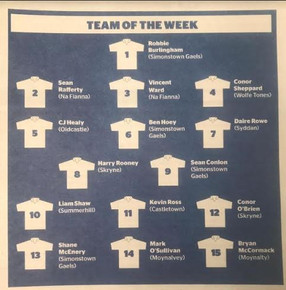 MEATH CHRONICLE'S TEAM OF THE WEEK