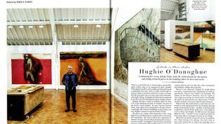 Artists in their studio: Hughie O'Donoghue
