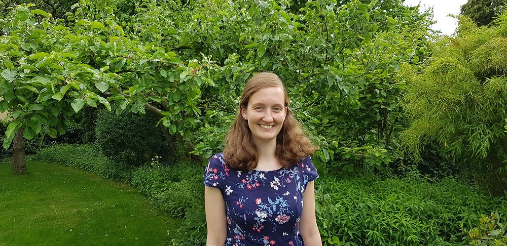 Svenja Welge ist die neue diakonisch-pädagogische Mitarbeiterin im Bremer-Osten