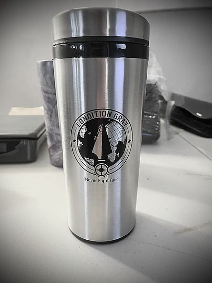 Condition Gray Stainless Steel Tumbler - 16 Oz