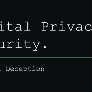 Digital Deception Course