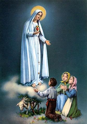 Notre-Dame-de-Fatima-et-les-trois-enfant