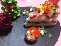 お寿司でメリークリスマス