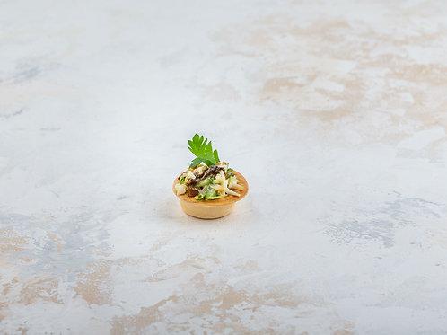 Тарталетки с салатом «РИМ»