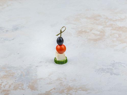 Канапе овощной шашлычок