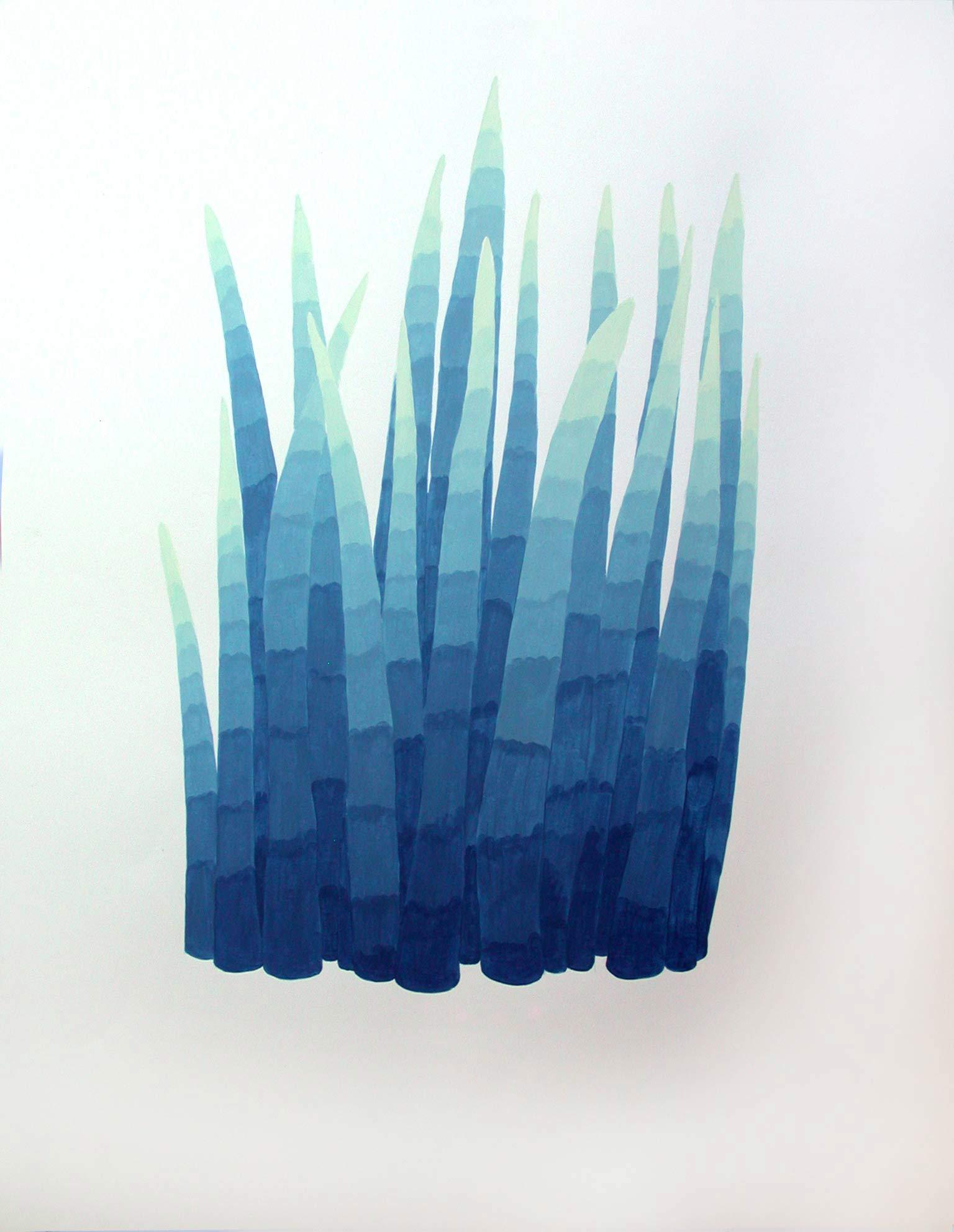 gouache 50 x 65 cm
