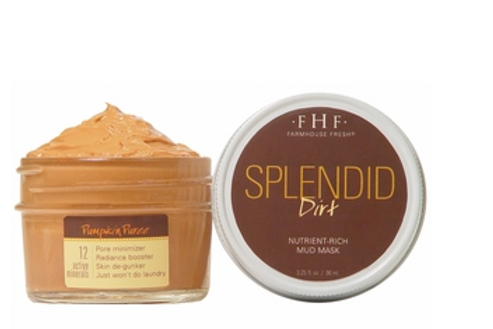 Splendid Dirt- Nutrient Mud Mask with Organic Pump