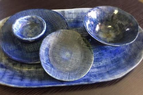 Hand Painted Stoneware