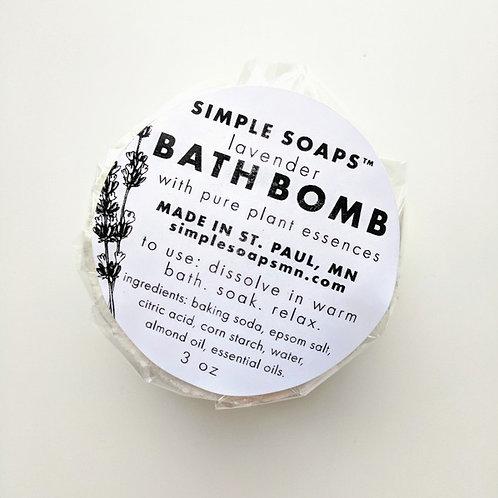 Simple Soap Bath Bomb