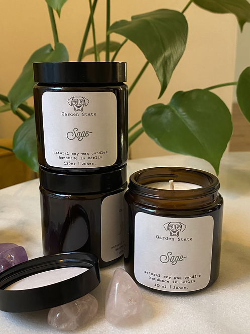 Garden State Candles | 100% Natural Soy Wax