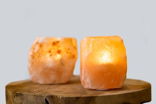 Himalayan Salt Tea Light Lamps
