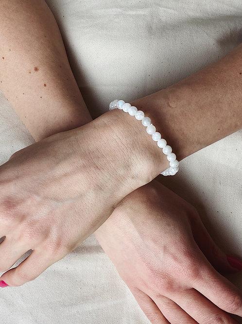 Moonstone Crystal Bracelet | 6mm